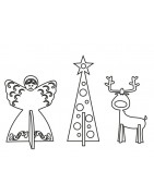 Dekoracje na Boże Narodzenie - filcowe ozdoby i dekoracje świąteczne